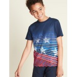Graphic Go-Dry Performance Tee for Boys
