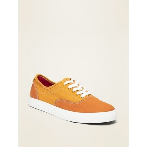 Lace-Up Canvas Sneakers for Boys