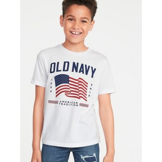 2019 Flag Graphic Tee for Boys