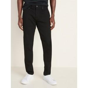 Skinny Built-In Flex Black Jeans for Men