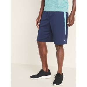 Go-Dry Side-Panel Performance Shorts for Men - 10-inch inseam
