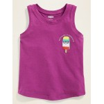Graphic Jersey Tank for Toddler & Baby