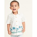 Printed Getaway Shirt for Toddler Boys