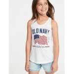 2019 Flag-Graphic Tank for Girls