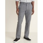 Straight Built-In Flex Textured Ultimate Pants for Men
