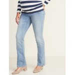 Maternity Full-Panel Boot-Cut Jeans