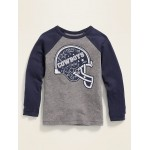NFL® Dallas Cowboys™ Raglan-Sleeve Tee for Toddler Boys