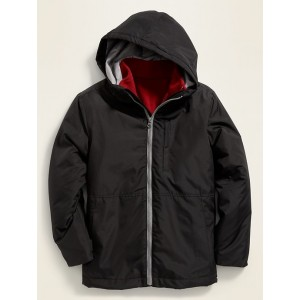 3-in-1 Hooded Snow Jacket for Boys