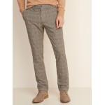 Slim Built-In Flex Textured Ultimate Pants for Men