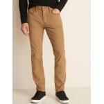 Slim Built-In Flex Five-Pocket Corduroy Pants For Men