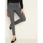 Mid-Rise Printed Pixie Full-Length Pants for Women