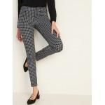 Mid-Rise Printed Pixie Full-Length Pants for Women