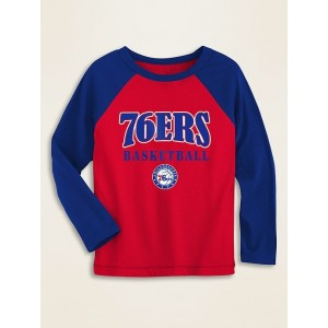 NBA&#174 Team-Graphic Raglan-Sleeve Tee for Toddler Boys