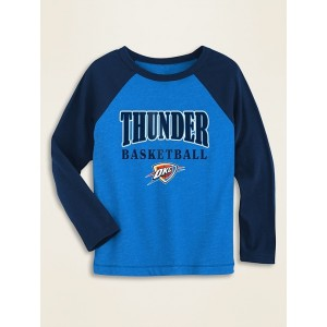 NBA® Team-Graphic Raglan-Sleeve Tee for Toddler Boys
