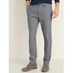 Skinny Built-In Flex Textured Ultimate Pants for Men