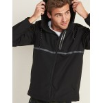 Go-H20 Water-Repellent Hooded Soft-Shell Jacket for Men