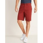 Slim Ultimate Khaki Shorts for Men - 10 inch inseam