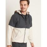 Go-Warm Sherpa/Nylon Hooded Jacket for Men