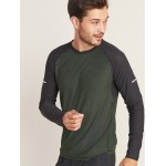 Ultra-Soft Breathe ON Go-Dry Cool Color-Blocked Tee for Men