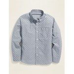 Built-In Flex Printed Shirt for Boys