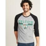 NBA® Team-Graphic Raglan Tee for Men