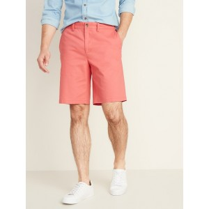 Slim Ultimate Khaki Shorts for Men - 10 inch inseam