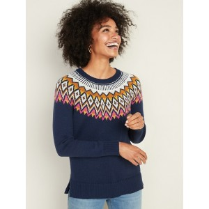 Fair Isle Sweater for Women