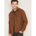 Soft-Brushed Shirt-Jacket for Men