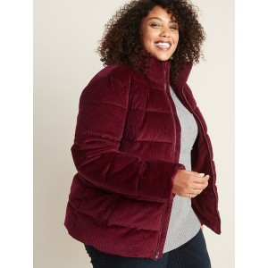 Plus-Size Frost-Free Corduroy Jacket