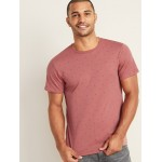 Soft-Washed Printed Crew-Neck Tee for Men