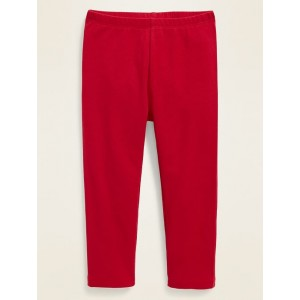 Jersey Full-Length Leggings for Toddler Girls