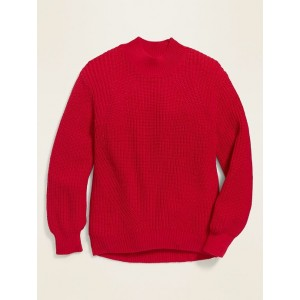 Mock-Neck Sweater for Girls
