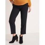 Maternity Mid-Rise Full-Panel Pull-On Pants