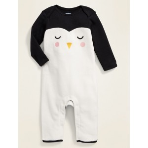 Penguin Graphic One-Piece for Baby