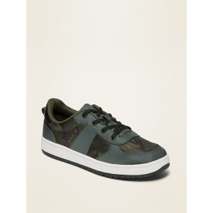 Mesh Lace-Up Sneakers for Boys