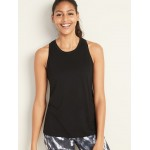 Pleated-Back Swing Tank for Women