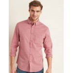 Slim-Fit Soft-Washed Poplin Shirt for Men