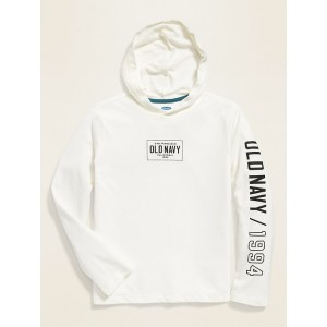 Logo-Graphic Tee Hoodie for Boys