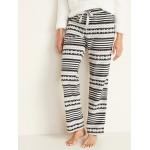 Printed Micro Performance Fleece Pajama Pants for Women