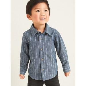 Valentine Arrow-Print Shirt for Toddler Boys
