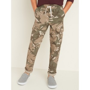 Relaxed Slim Built-In Flex Ripstop Pull-On Cargo Pants for Boys