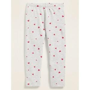 Printed Jersey Leggings for Toddler Girls