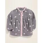 Micro Performance Fleece Zip Jacket for Baby