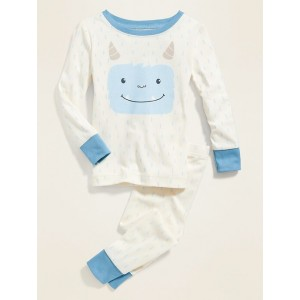 Blue Yeti Graphic Pajama Set for Toddler Boys & Baby