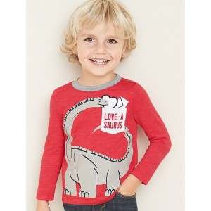 Graphic Pocket Tee for Toddler Boys