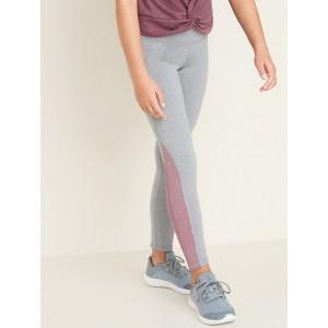 Mid-Rise Soft-Brushed Go-Dry Elevate Leggings for Girls