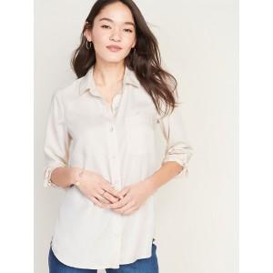 Relaxed Tencel® Shirt for Women