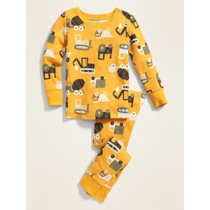 Construction Equipment Pajama Set for Toddler Boys & Baby