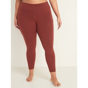 High-Waisted Balance Plus-Size 7/8-Length Leggings