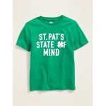 St. Patrick's Day Graphic Tee for Boys